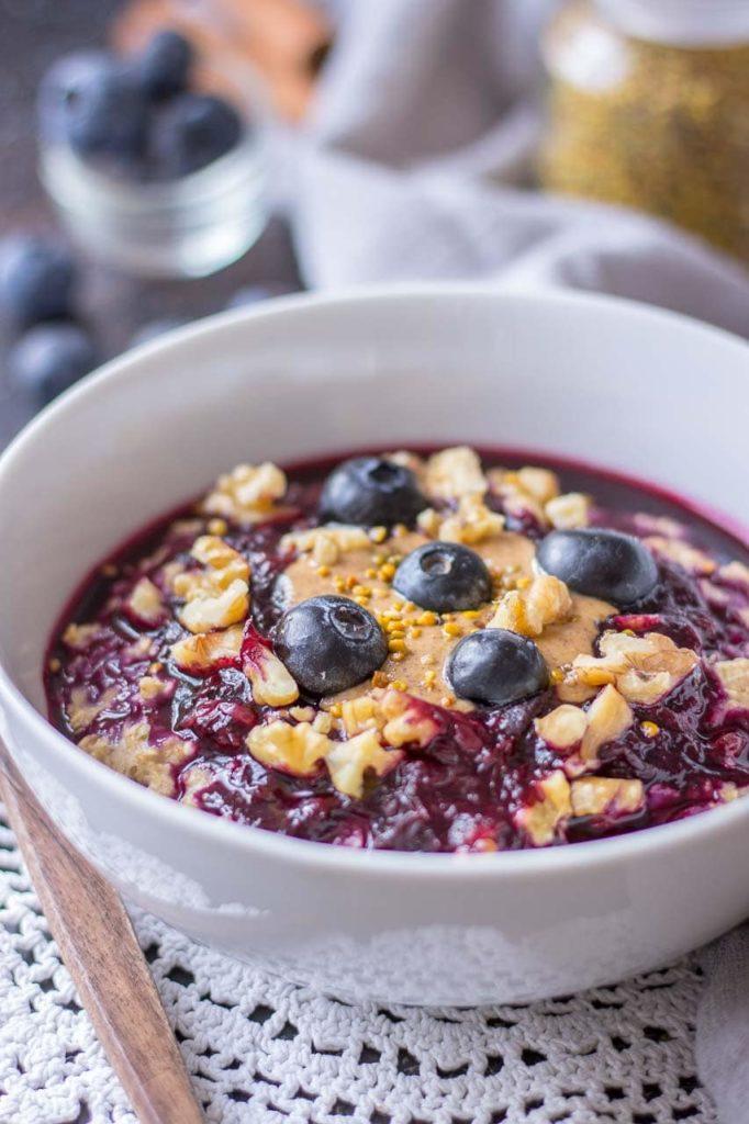 Oat Porridge With Berries
